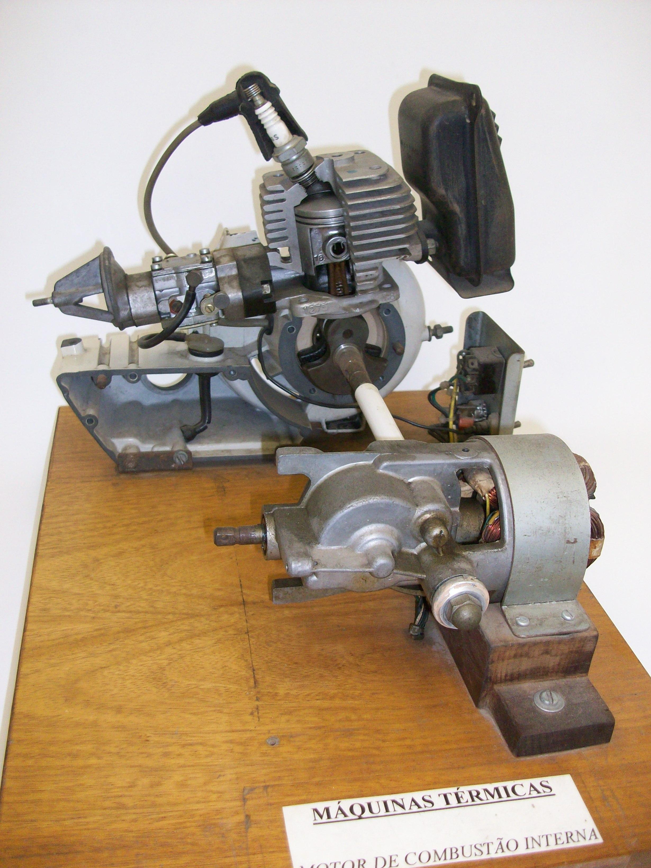 Motor de Combustão Interna 2 Tempos
