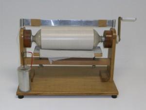 maquina eletrostática de cilindro