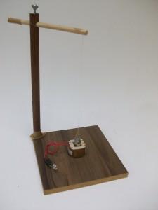 Pendulo com indução eletromagnética