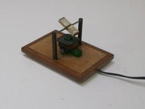 modelo de motor de indução com imã suspenso