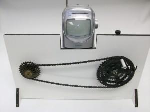gerador ligado a tv